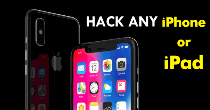 Here's How To Hack Any iPhone Or iPad (VIDEO)