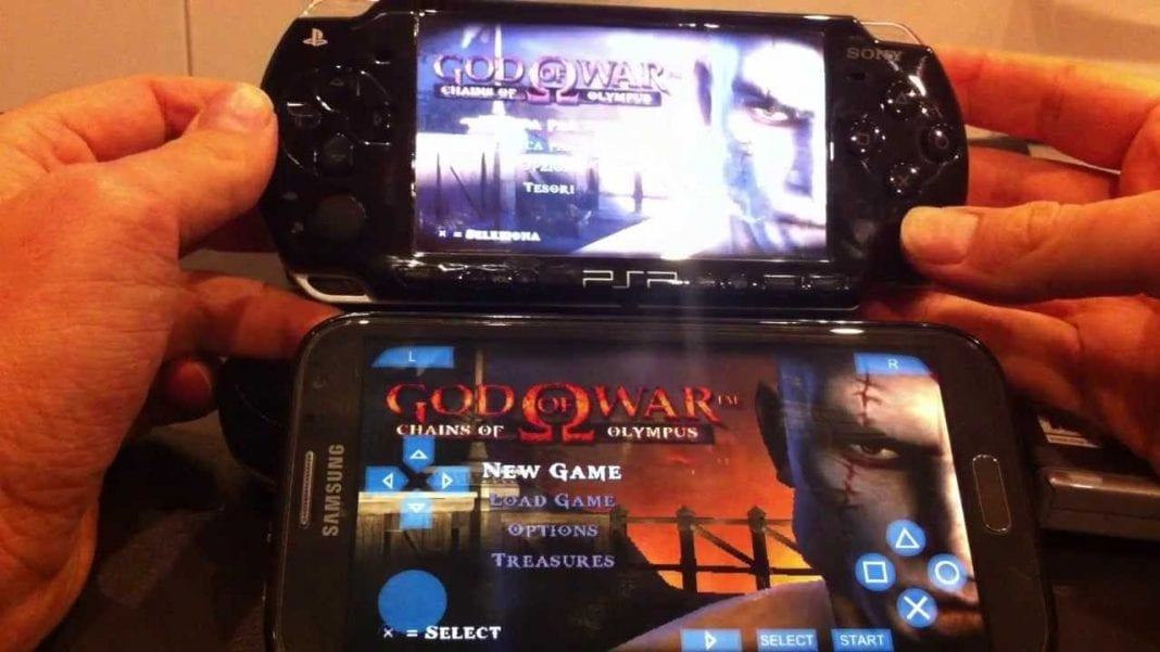 psp games for android