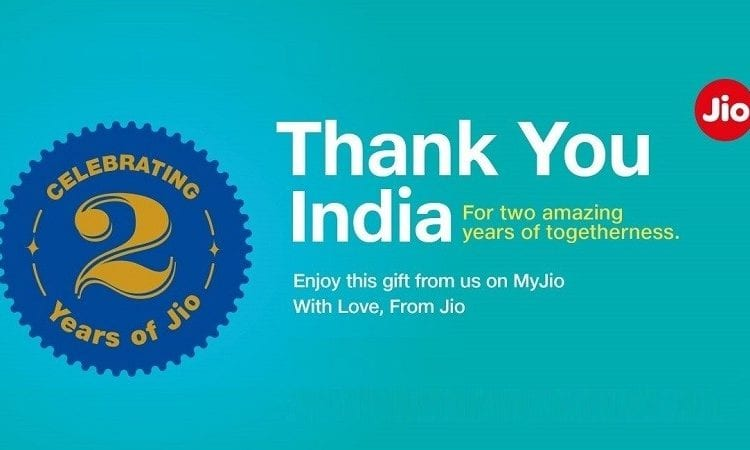 JIO Anniversary 1 - Reliance Jio Offer: Here's How You Can Get Extra 8GB of 4G Data For Free
