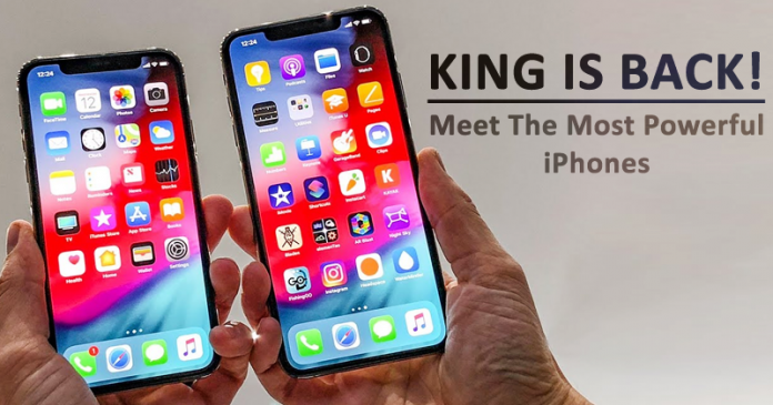 King Is Back! Apple Just Launched iPhone Xs & iPhone Xs Max