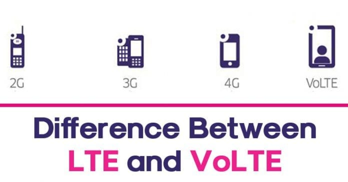 Difference Between LTE and VoLTE: Things You Should Know!