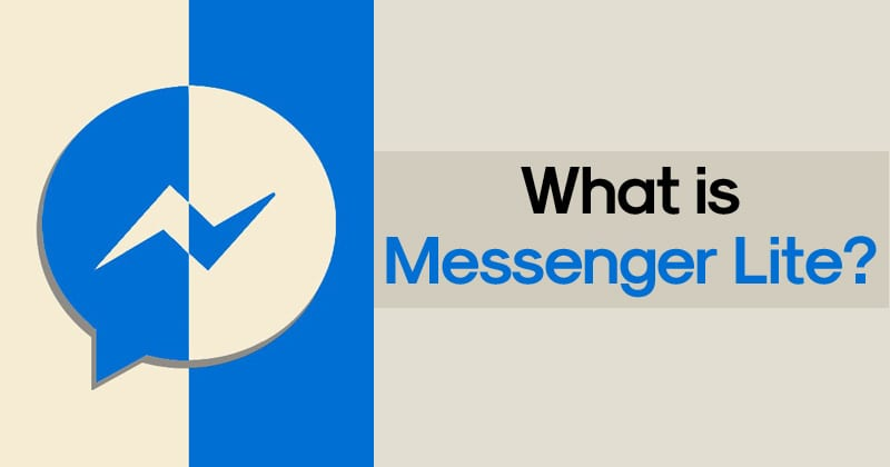 Messenger Lite Apk 1 - Messenger Lite APK Latest Version Free Download For Android
