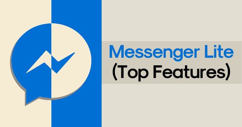 Features of MessFeatures of Messenger Lite Apkenger Lite Apk