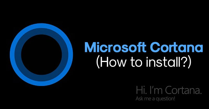 How To Install Microsoft Cortana Apk On Android?