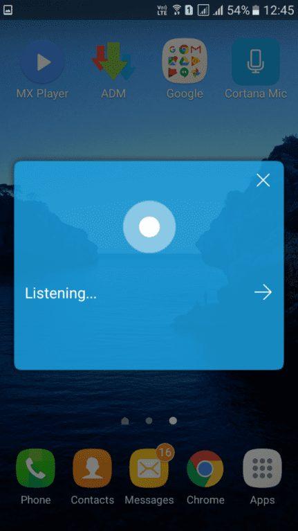 Install Microsoft Cortana On Android