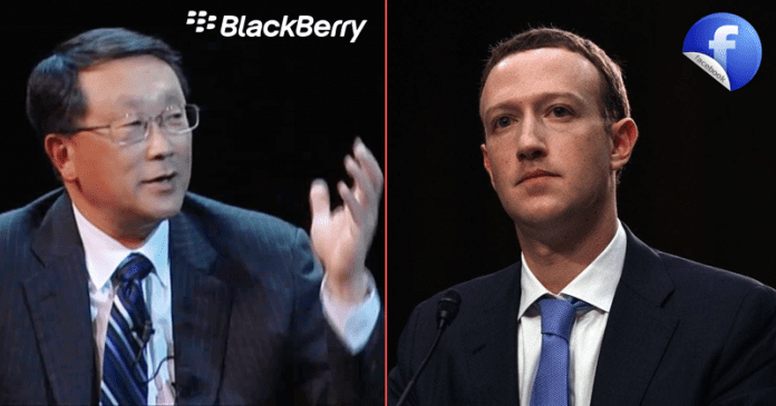 OMG! Facebook Sues BlackBerry