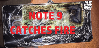 OMG! Samsung Galaxy Note 9 Explodes Inside Woman's Purse