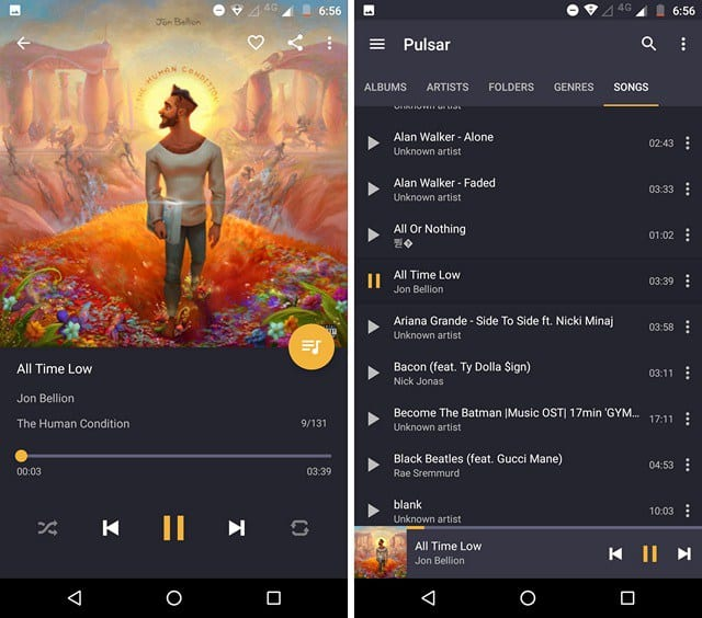 pulsar + music player pro mod apk