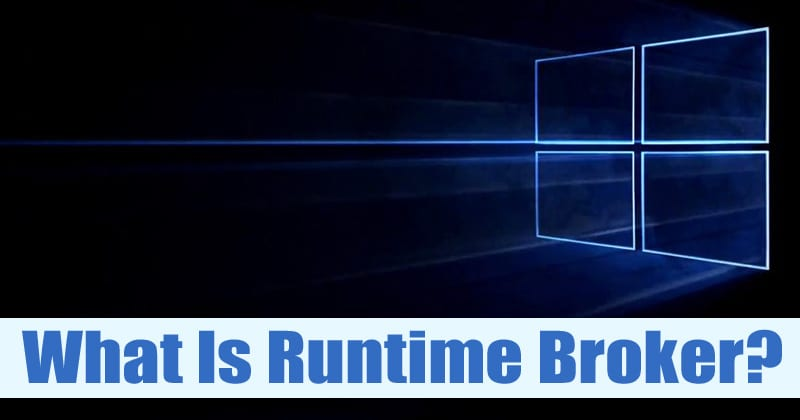 what is runtimebroker.exe