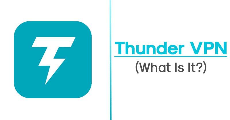 Thunder VPN Pro APK