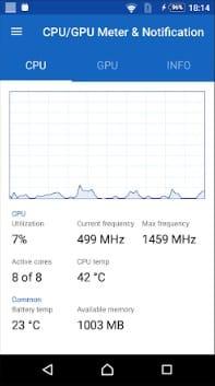 Using CPU/GPU Meter