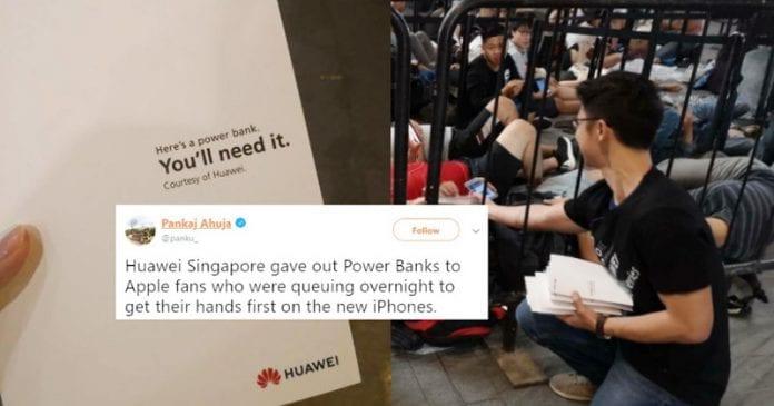 'You'll Need It' – Huawei Trolls Apple