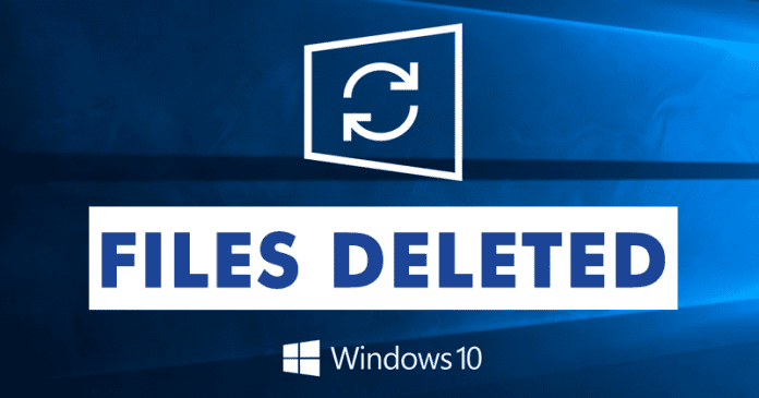BEWARE! This Windows 10 Update Will Delete Your Files