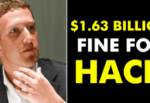 Facebook To Face Up To $1.63 Billion Fine For Latest Hack