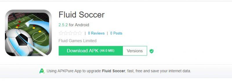 Fluid Soccer
