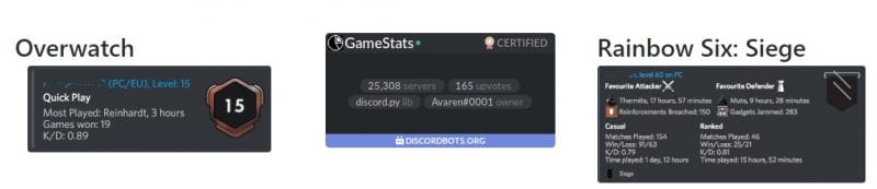 GameStats - Top 10 Best & Useful Discord Bots To Enhance Your Server
