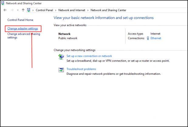Google DNS Settings
