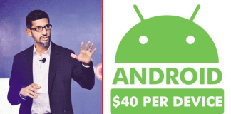 Google To Charge $40 Per Device For Android