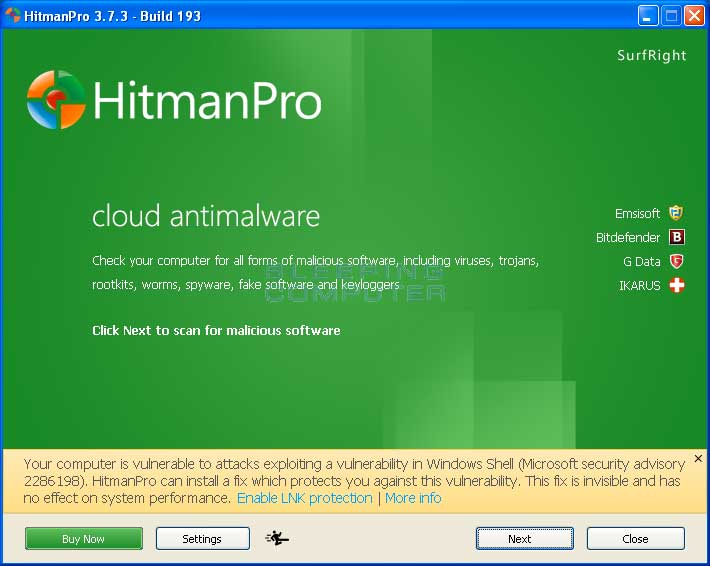 HitmanPro - Top 10 Best Anti-Hacking Software For Windows 10