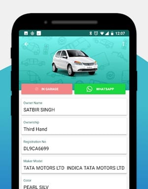 How To Find Indian Vehicle Information on iPhone