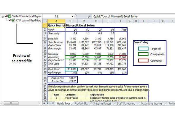 Phoenix Excel Repair