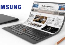 Samsung To Launch A Foldable Laptop With Flexible Display