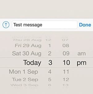 Schedule WhatsApp Messages On iPhone 2 - How To Schedule Whatsapp Messages On Android & iOS