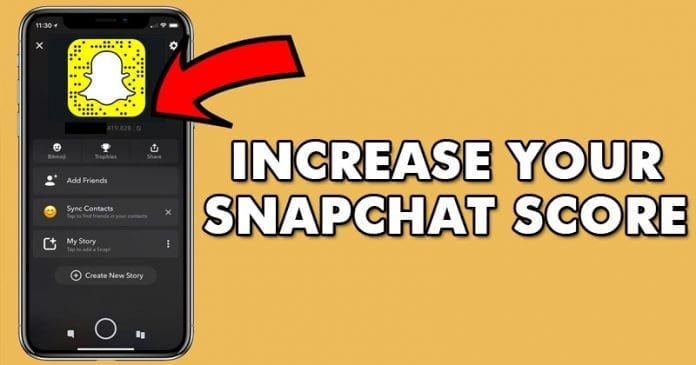 How To Increase Snapchat Score Fast 2018