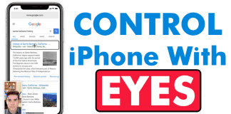 This Awesome App Lets You Control Your iPhone With Your Eyes