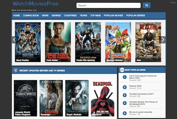Best sites like Putlocker to watch online movies