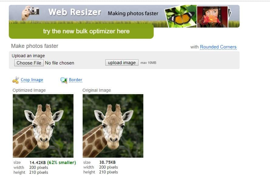 Web Resizer