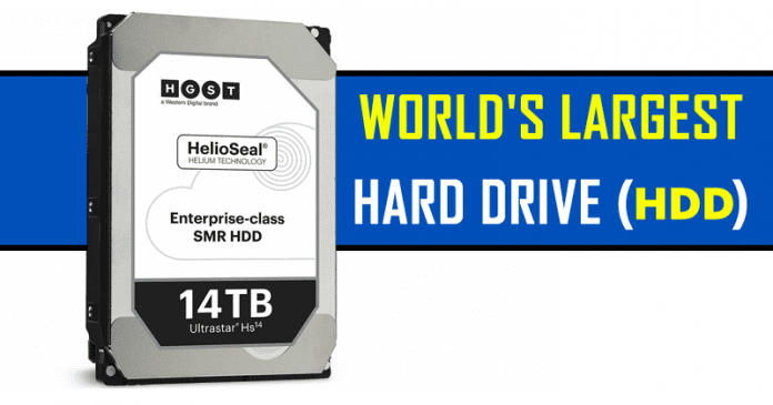 Western Digital Just Unveiled The World's Biggest Hard Drive