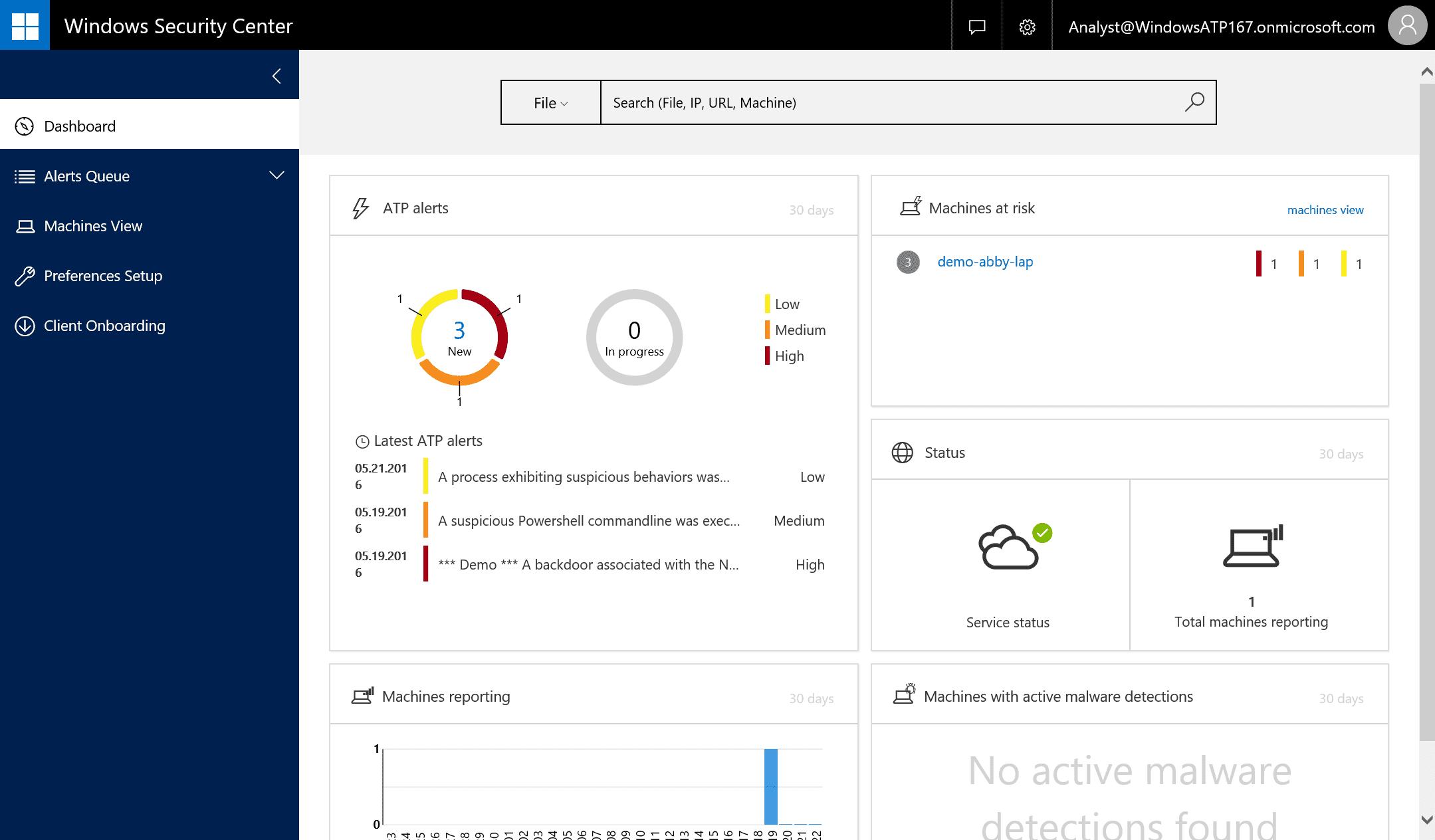 Windows  حماية متقدمة من التهديدات