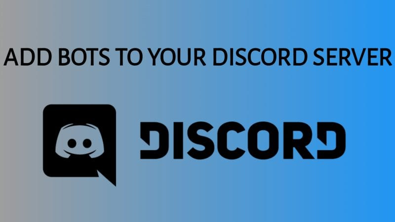 How To Add Bots To Discord Server?