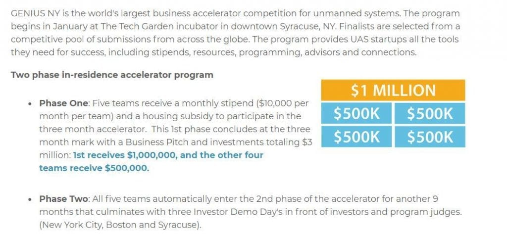 phase 1024x477 - GENIUS NY Is the World's Largest Business Accelerator Competition for Unmanned Systems
