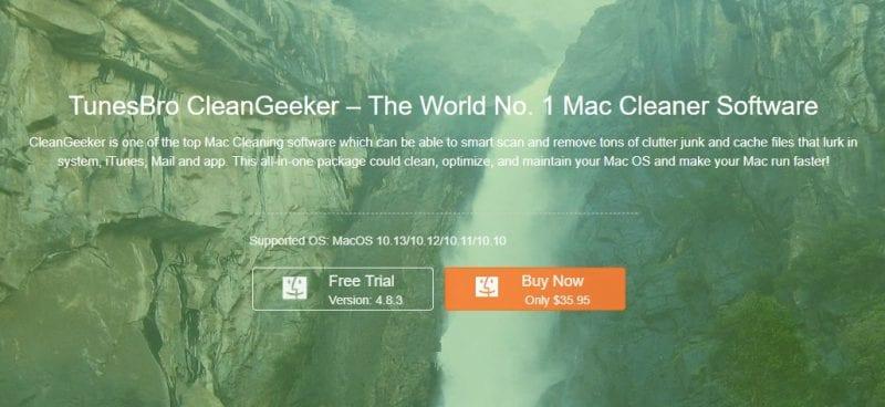 CleanGeeker 1 - TunesBro CleanGeeker – Meet The World No. 1 Mac Cleaner Software