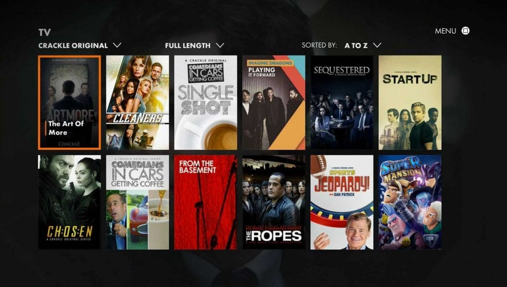 Crackle 1024x580 - 15+ Best 123Movies Alternatives To Watch Movies For Free