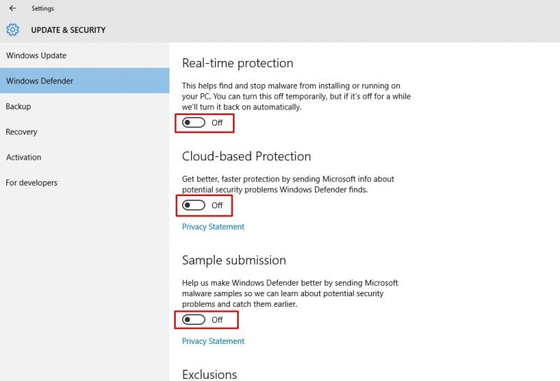 How To Disable Windows Defender 2019