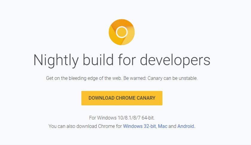 Enable Chrome Dark Mode