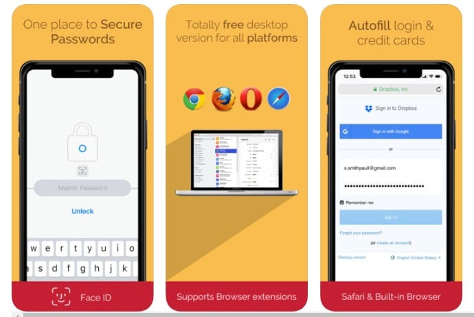 best free password manager 2019