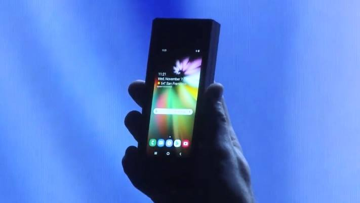 Foldable 2 - Samsung Just Revealed Its First Futuristic Foldable Smartphone