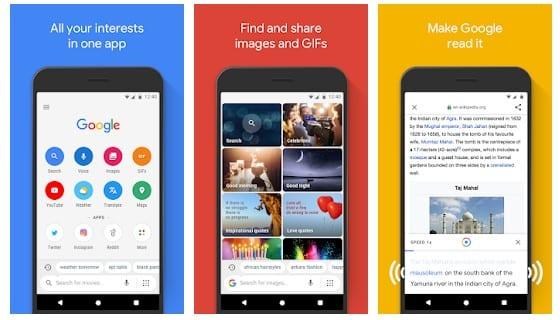lightweight Android app
