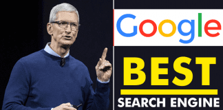Tim Cook: Google Is The Best Search Engine
