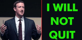 Mark Zuckerberg: I Will Not QUIT Facebook