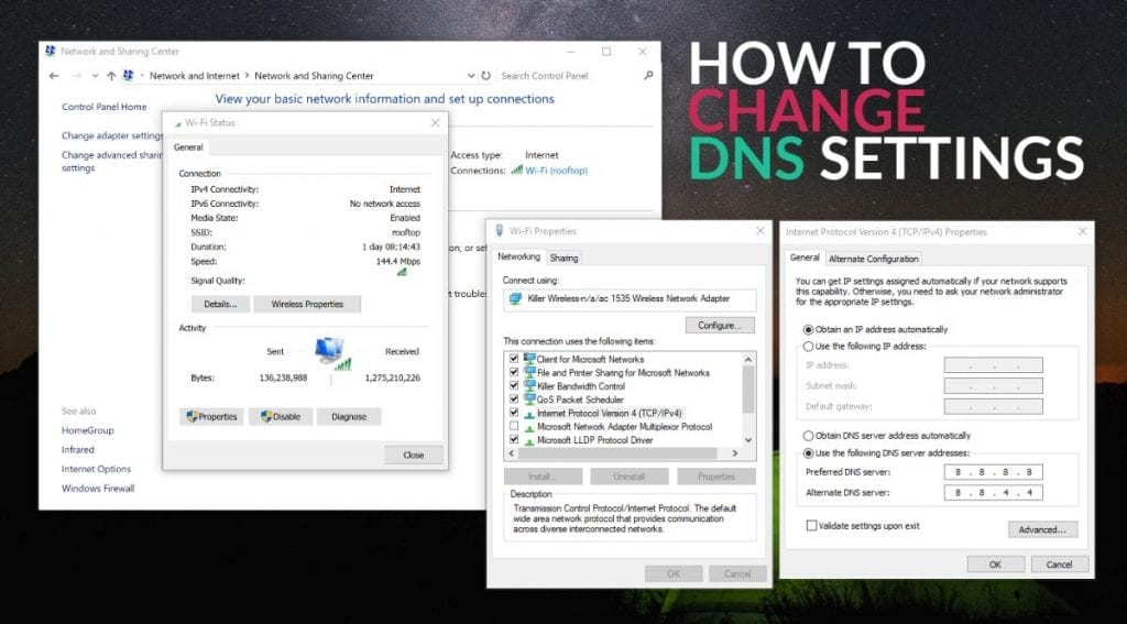 IMG 3 5 1024x567 - Top 20 Best Free And Public DNS Servers Of 2018