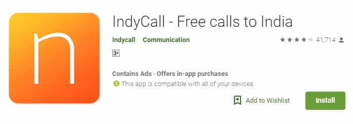 IndyCall