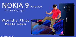 It's Confirmed! NOKIA 9 PureView To Feature 5 Rear Cameras