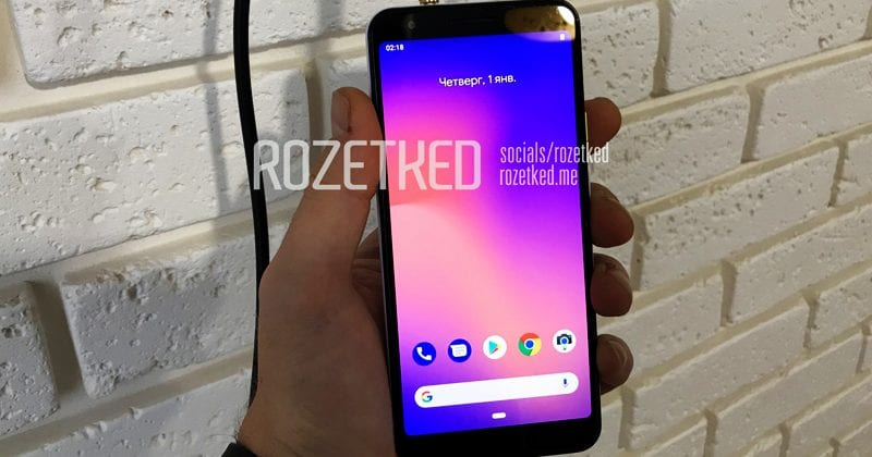 Google Pixel 3 Lite Hands-On Images Surfaces Online