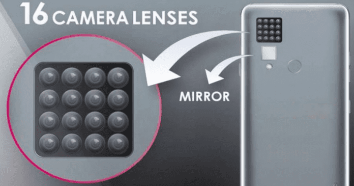 Meet The Worlds First Smartphone With 16 Rear Cameras
