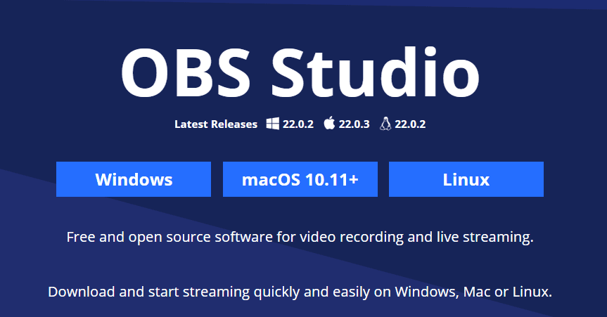 OBS Studio - 15+ Best Video Editing Software For YouTube